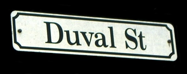 Duval Street Crawl sign